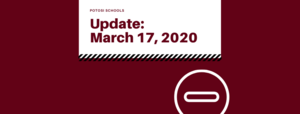Update for March 17th, 2020